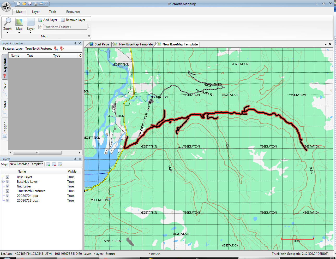 TrueNorth Geospatial | Mapping software for backcountry enthusiasts
