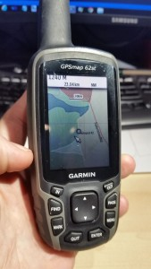 Garmin GPS with custom map