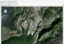 Google Satellite layer